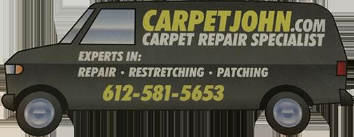 Twin Cities Carpet John Logo